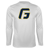 Performance White Longsleeve Shirt-G