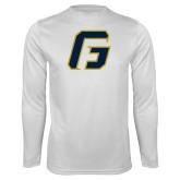 Syntrel Performance White Longsleeve Shirt-G