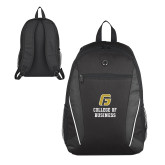 Atlas Black Computer Backpack-College of Business