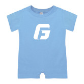 Light Blue Infant Romper-G