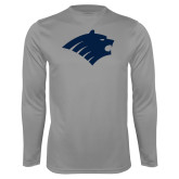 Performance Steel Longsleeve Shirt-Bear Head
