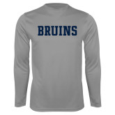 Performance Steel Longsleeve Shirt-Bruins