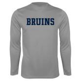 Syntrel Performance Steel Longsleeve Shirt-Bruins
