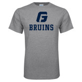 Grey T Shirt-G Bruins Stacked
