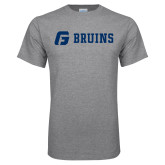 Grey T Shirt-G Bruins Flat