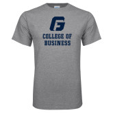 Grey T Shirt-College of Business