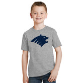 Youth Grey T-Shirt-Bear Head