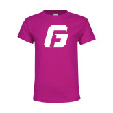 Youth Fuchsia T Shirt-G