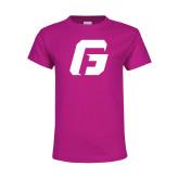 Youth Fuchsia T Shirt-G