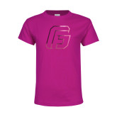 Youth Fuchsia T Shirt-G Foil