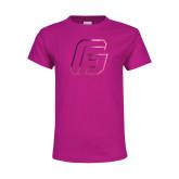 Youth Fuchsia T Shirt-G Foil