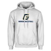White Fleece Hoodie-Basketball-Women's
