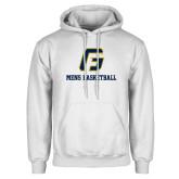 White Fleece Hoodie-Basketball-Men's