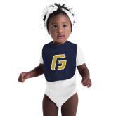 Navy Baby Bib-G