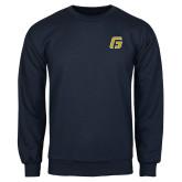 Navy Fleece Crew-G