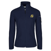 Columbia Ladies Full Zip Navy Fleece Jacket-G