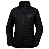 Columbia Mighty LITE Ladies Black Jacket-Bear Head