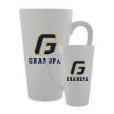 Full Color Latte Mug 17oz-Grandpa