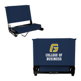 Stadium Chair Navy-College of Business