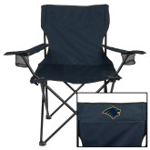 Deluxe Navy Captains Chair-Bear Head