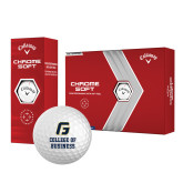 Callaway Chrome Soft Golf Balls 12/pkg-College of Business