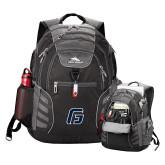 High Sierra Big Wig Black Compu Backpack-G