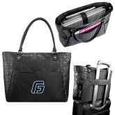 Sophia Checkpoint Friendly Black Compu Tote-G
