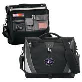 Slope Black/Grey Compu Messenger Bag-Goshen Leaf