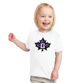 Toddler White T Shirt-Goshen Leaf