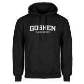 Black Fleece Hoodie-Goshen Maple Leafs