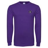 Purple Long Sleeve T Shirt-Goshen Leaf