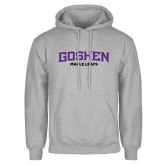 Grey Fleece Hoodie-Goshen Maple Leafs