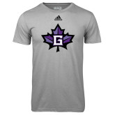 Adidas Climalite Sport Grey Ultimate Performance Tee-Goshen Leaf