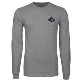 Grey Long Sleeve T Shirt-Goshen Leaf