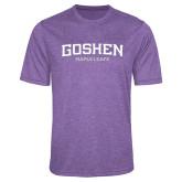 Performance Purple Heather Contender Tee-Goshen Maple Leafs