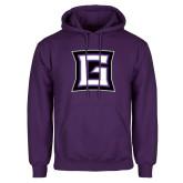 Purple Fleece Hoodie-Goshen G
