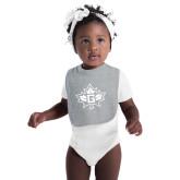 Grey Baby Bib-Goshen Leaf