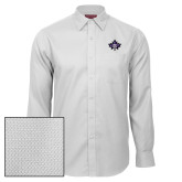 Red House White Diamond Dobby Long Sleeve Shirt-Goshen Leaf