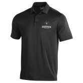 Under Armour Black Performance Polo-Goshen Leaf and Wordmark