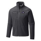 Columbia Full Zip Charcoal Fleece Jacket-Goshen Leaf