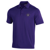 Under Armour Purple Performance Polo-Goshen Leaf