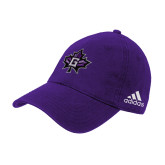 Adidas Purple Slouch Unstructured Low Profile Hat-Goshen Leaf