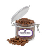 Almond Bliss Small Round Canister-Goshen Leaf