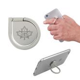 Aluminum Cell Phone Ring/Stand-Goshen Leaf Engraved