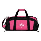 Tropical Pink Gym Bag-Goshen Leaf