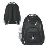 The Ultimate Black Computer Backpack-Goshen Leaf