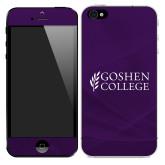 iPhone 5/5s/SE Skin-Goshen College Stacked