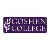 Medium Decal-Goshen College Stacked, 8 inches wide