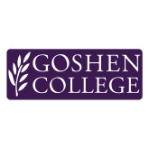 Large Decal-Goshen College Stacked, 12 inches wide
