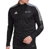Adidas Black Tiro 19 Training Jacket-Goshen College Stacked
